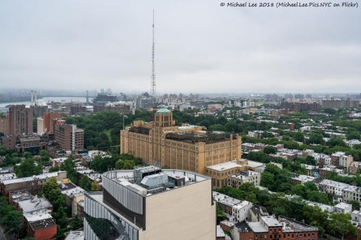 View of Brooklyn Tech from 300 Ashland