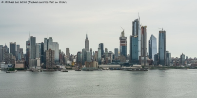 View from Weehawken, NJ