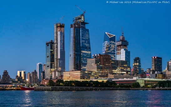 View from OHNY Brooklyn Waterfront Boat Tour on Circle Line
