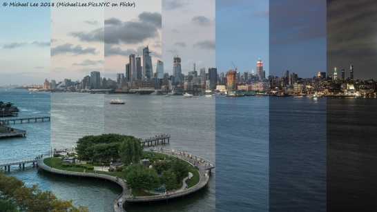 Time Lapse view from the W Hotel in Hoboken, NJ