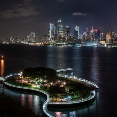 View from the W Hotel in Hoboken, NJ