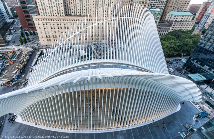 View of Oculus from 3 WTC