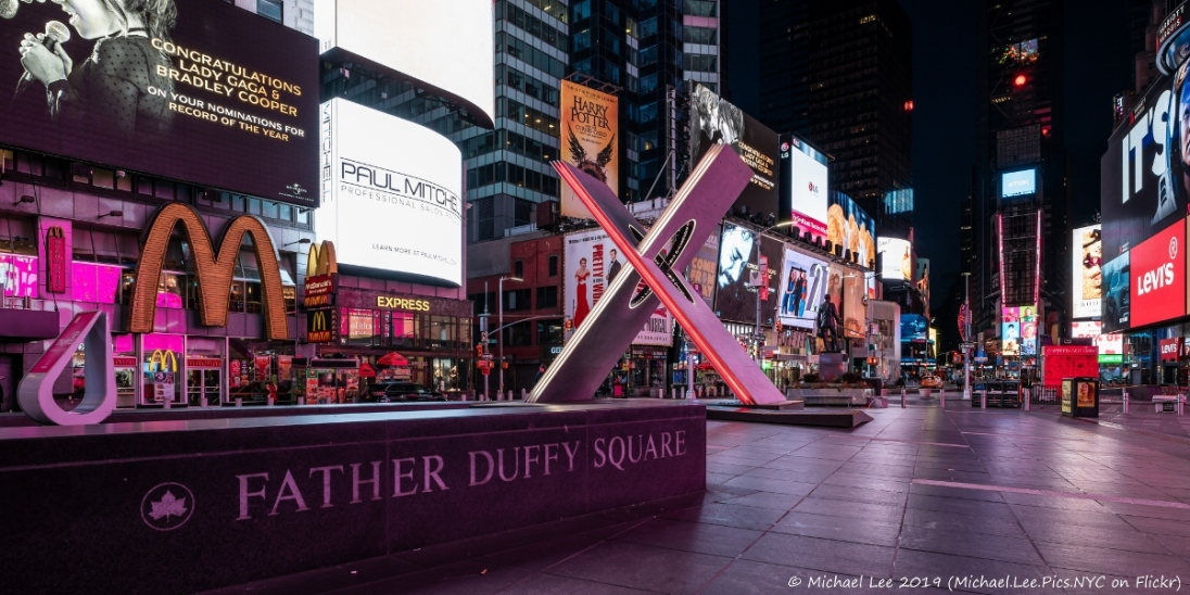 Reddymade's winning design for the Times Square Valentine Heart Design Competition