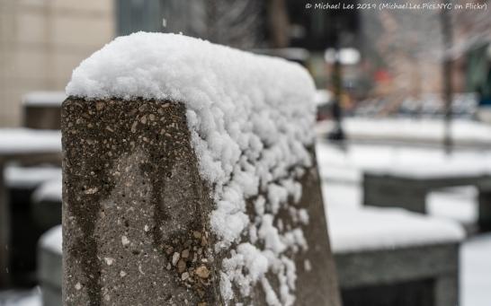 Snowy Cooper Square